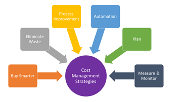 Cost management strategies by cost reduction consultants